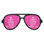 [Crown] keep calm it's your 30th birthday  Party Shades