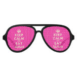 [Crown] keep calm and eat sushi  Party Shades