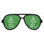 [Crown] keep calm and be a turtle  Party Shades
