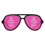 [Crown] keep calm and read p.y.t  Party Shades