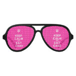 [Cupcake] keep calm and eat cake  Party Shades
