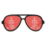[Cupcake] keep calm its your birthday  Party Shades