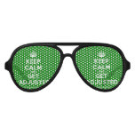 [Crown] keep calm and get adjusted  Party Shades