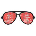 [Campfire] keep calm and marry a firefighter  Party Shades