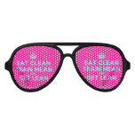[Crown] eat clean train mean and get lean  Party Shades