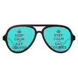 [Crown] keep calm and eat cookies  Party Shades