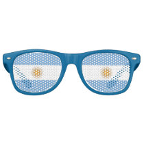 Party Shades Sunglasses - Argentina flag