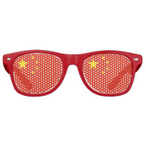 Party Shades Sunglasses - China flag