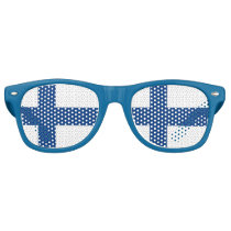Party Shades Sunglasses - Finland flag