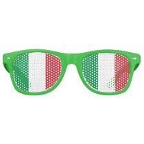 Party Shades Sunglasses - Italy flag