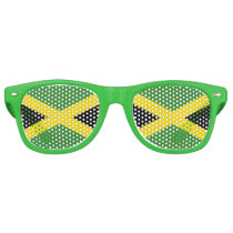 Party Shades Sunglasses - Jamaica flag