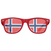 Party Shades Sunglasses - Norway flag