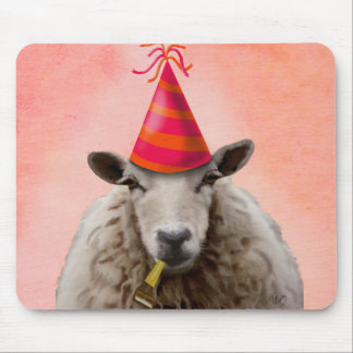 Party Sheep 2 Mouse Pad