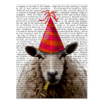 Party Sheep Postcard