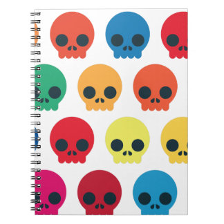 Party Skulls Notebook