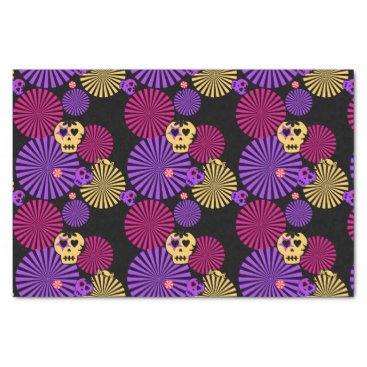Halloween Themed Party skulls tissue paper