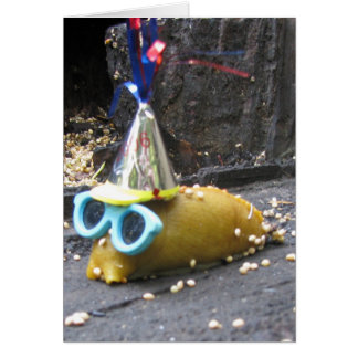 Party Slug Invitation Greeting Cards