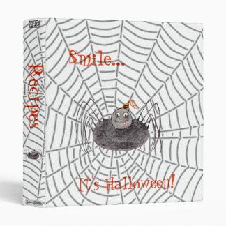 Party Spider, Smile...It's Halloween! Binder