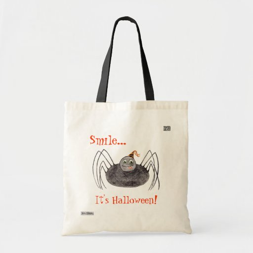 Party Spider (Smile...) Trick or Treat bag