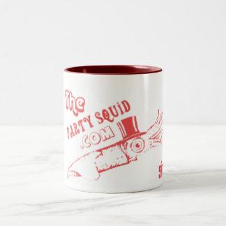 Party Squid Two-Tone Coffee Mug
