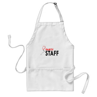 Party Staff Adult Apron