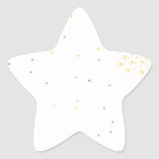 Party Star Sticker