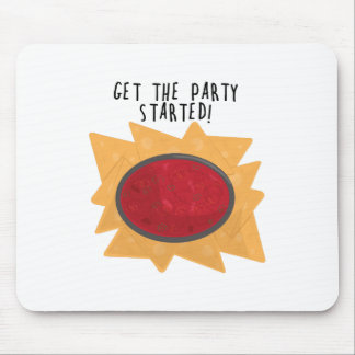 Party Started Mouse Pad