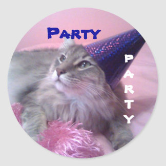 party stickers