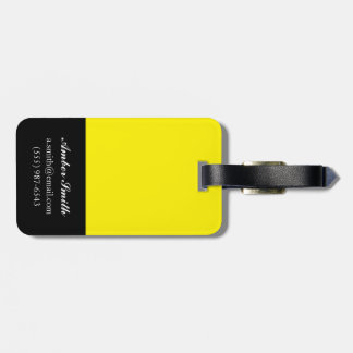 Party Stripe Luggage Tag