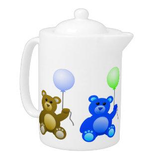 Party Teddies Teapot