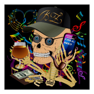 Party The Bone Zone Print