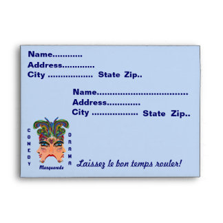 """Party theme greeting cards. 7 ¼"""" wide x 5 ¼"""" high envelope"""