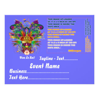 """Party Theme or Event View large Please View Notes 8.5"""" X 11"""" Flyer"""
