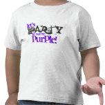Party til You're Purple! Kids T-Shirts