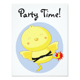 Party Time! 4.25x5.5 Paper Invitation Card