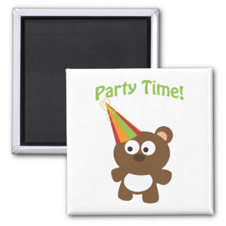 Party Time! Bear Magnet