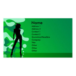 Party Time Double-Sided Standard Business Cards (Pack Of 100)