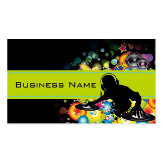 Party Time Business Card Template