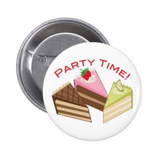 Party Time Buttons