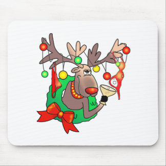 PARTY TIME by SHARON SHARPE Mouse Pads