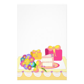 Party Time - Cake and Presents! Stationery