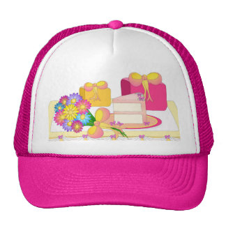 Party Time - Cake and Presents! Trucker Hat