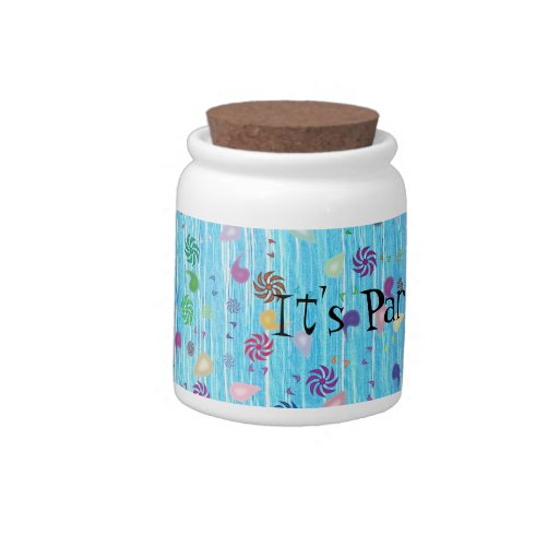 Party Time Candy Jars
