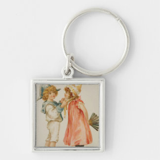 Party Time, Christmas postcard Key Chains