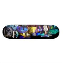 Party Time Collage skateboard decks