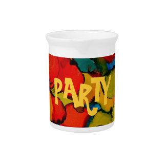 Party time collection drink pitcher