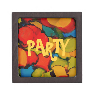 Party time collection jewelry box