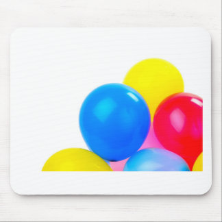 Party Time Colorful Balloons Mouse Pad