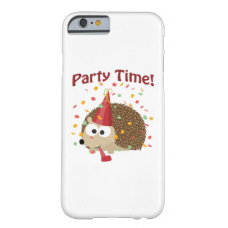 Party time! Confetti Hedgehog Barely There iPhone 6 Case