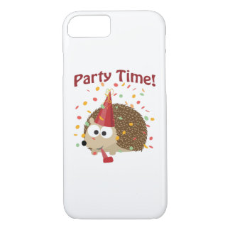 Party time! Confetti Hedgehog iPhone 8/7 Case